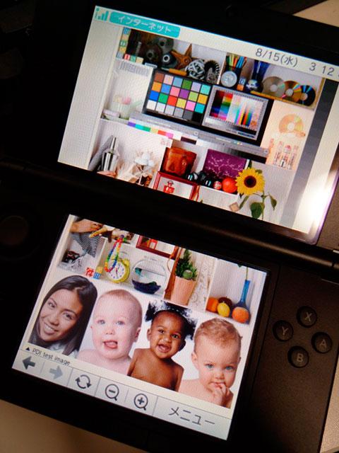Nintendo 3DS LL ディスプレイ