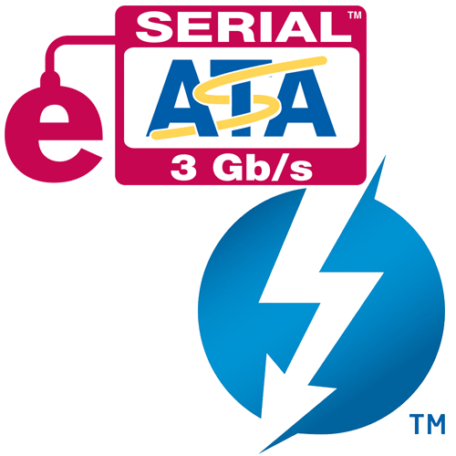 Thunderbolt to eSATA